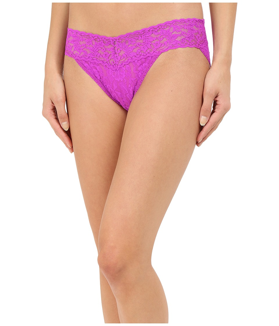 Hanky Panky - Signature Lace V-Kini (Wild Orchid) Women's Underwear