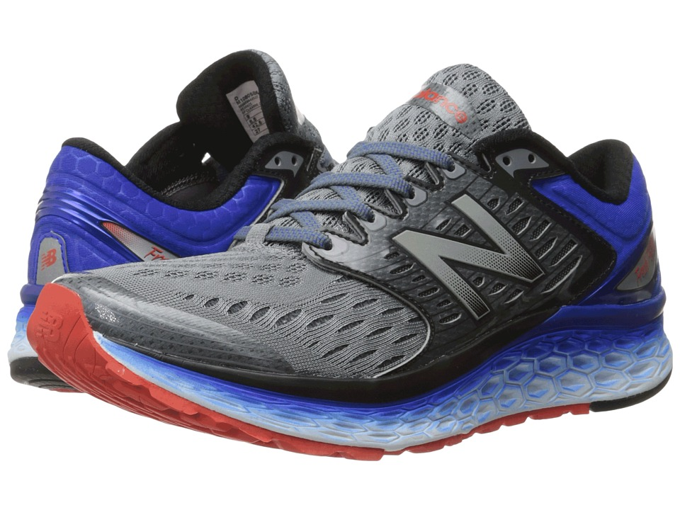 New Balance - Fresh Foam 1080 (Silver/Blue) Men's Running Shoes