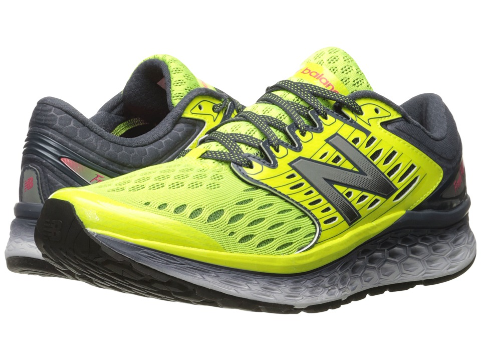 New Balance - Fresh Foam 1080 (Grey/Yellow) Men's Running Shoes