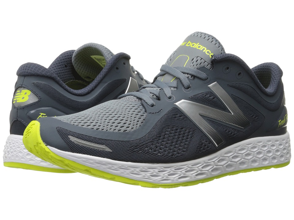 New Balance - Zante v2 (Grey/Yellow) Men's Running Shoes