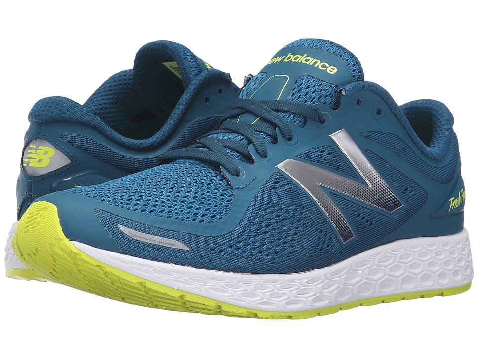 New Balance - Zante v2 (Teal/White) Men's Running Shoes