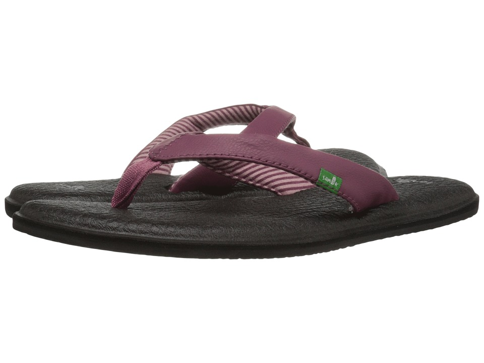 Sanuk - Yoga Chakra (Dusty Boysenberry) Women's Sandals