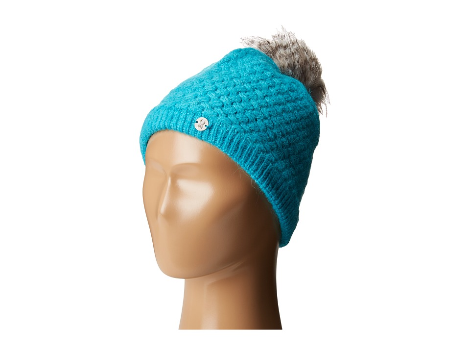 Spyder Kids - Icicle Hat (Big Kids) (Bluebird/Image Gray) Knit Hats