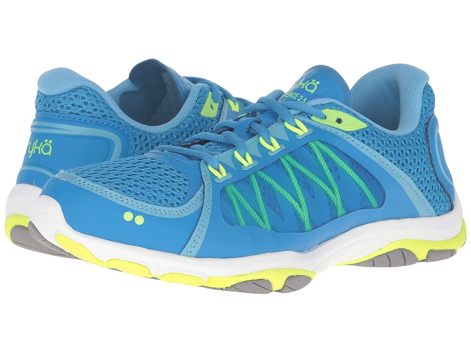 Ryka - Influence 2.5 (Brilliant Blue/Ethereal Blue/Lime Shock/Frost Grey) Women's Shoes