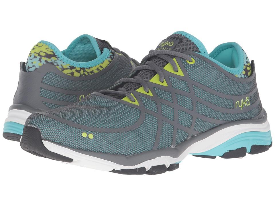 Ryka - Vida RZX 2 (Iron Grey/Winter Blue/Tender Shoots/Black) Women's Running Shoes