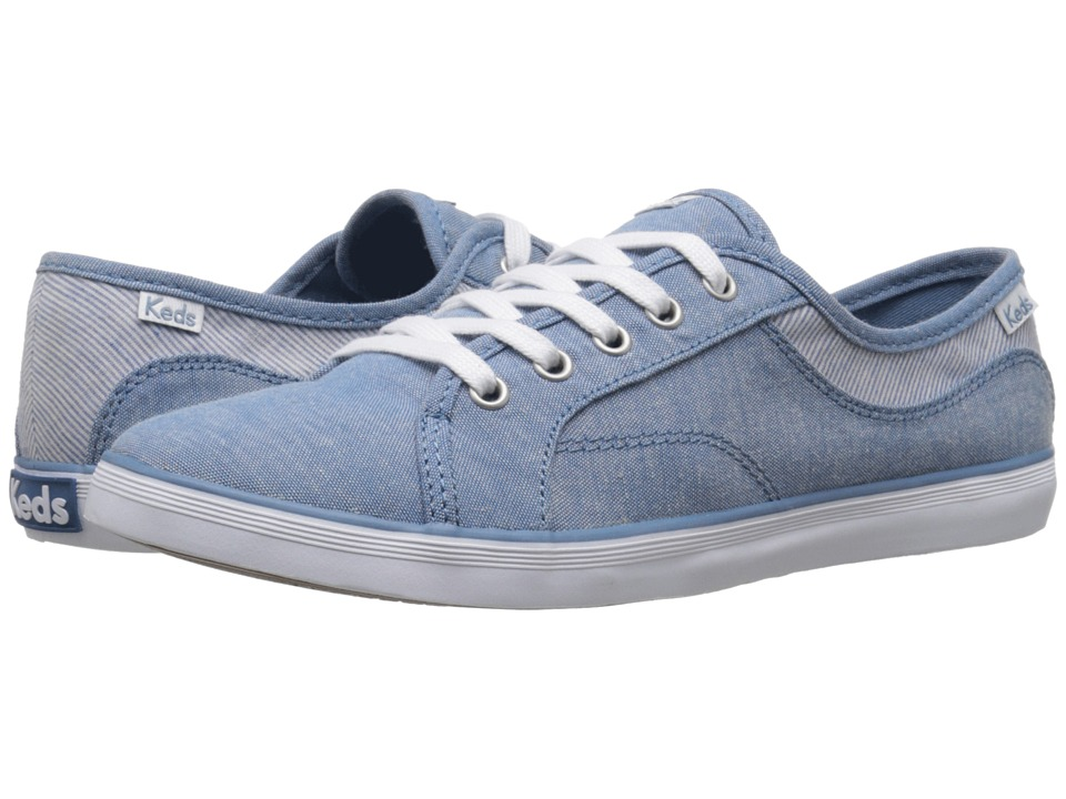 Keds Coursa Chambray (Blue) Women