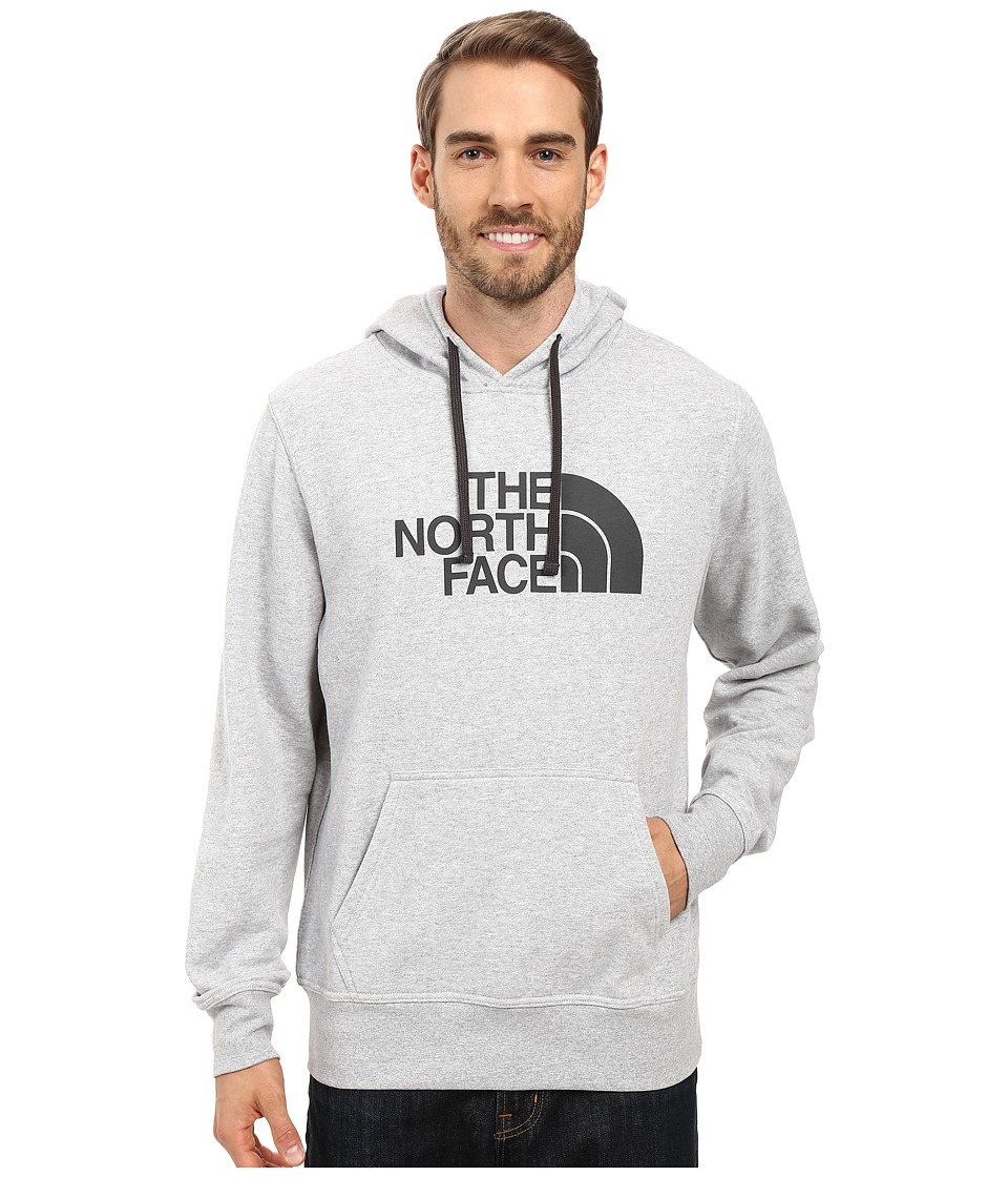 The North Face - Half Dome Hoodie (TNF Light Grey Heather/Asphalt Grey) Men's Long Sleeve Pullover