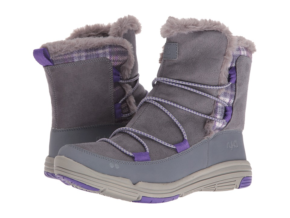 Ryka - Aubonne (Iron Grey/Frost Grey/Prism Violet) Women's Shoes