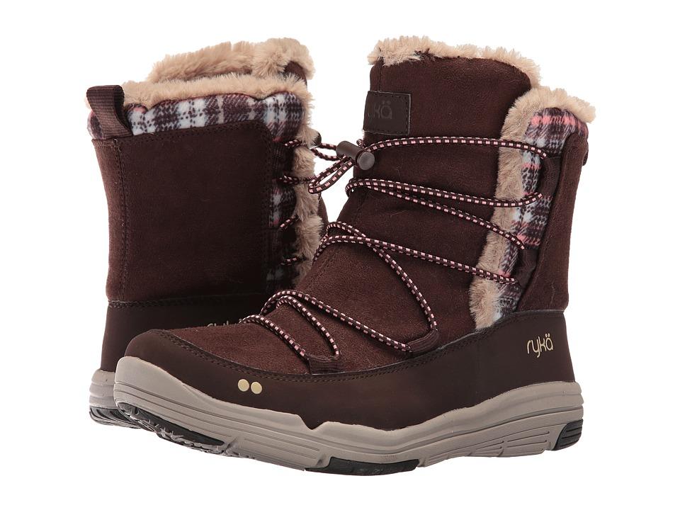 Ryka - Aubonne (Coffee Bean/Peach Amber/Doeskin) Women's Shoes