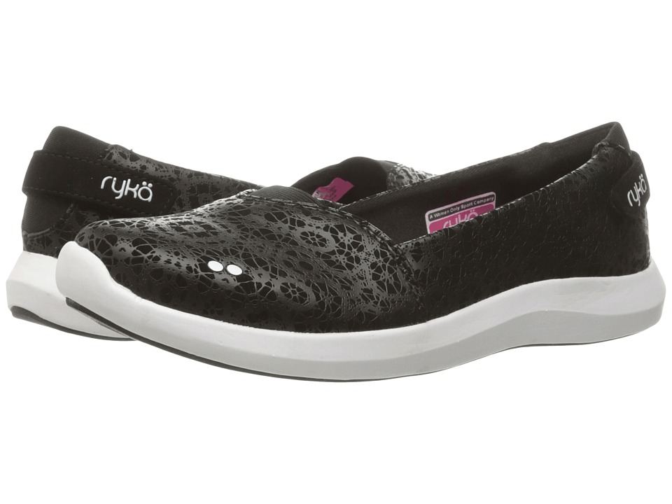 Ryka - Amaze (Black/Fuchsia Purple/White/Chrome Silver) Women's Shoes
