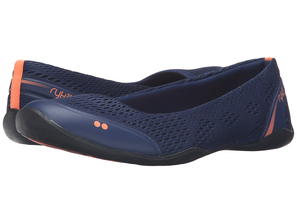 Ryka - Serena (Jet Ink Blue/Fusion Coral/Black) Women's Shoes