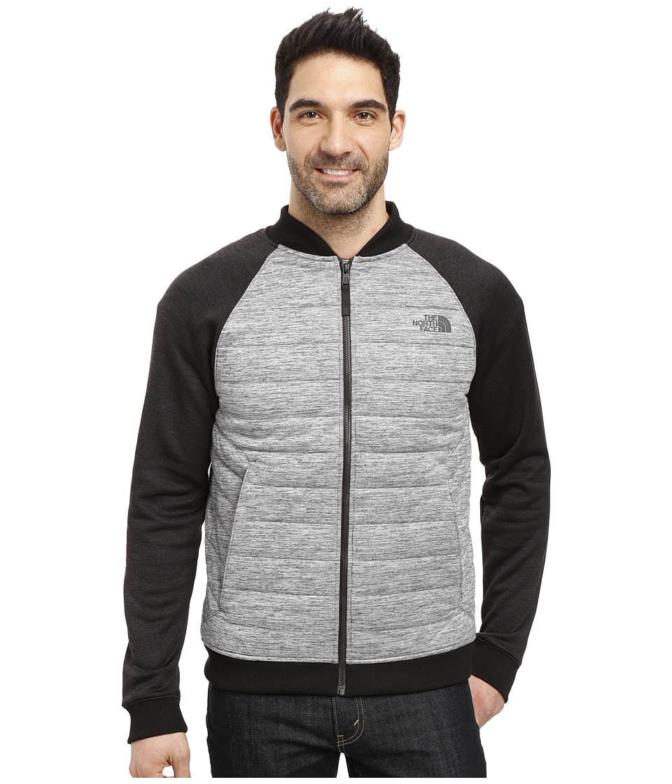 The North Face - Norris Point Insulated Full Zip (TNF Dark Grey Heather/TNF Black Heather) Men's Clothing