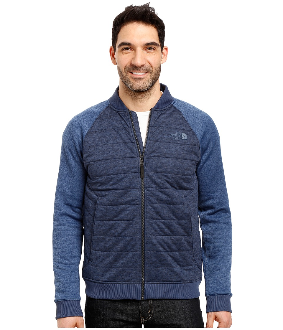 The North Face - Norris Point Insulated Full Zip (Urban Navy Heather/Shady Blue Heather) Men's Clothing