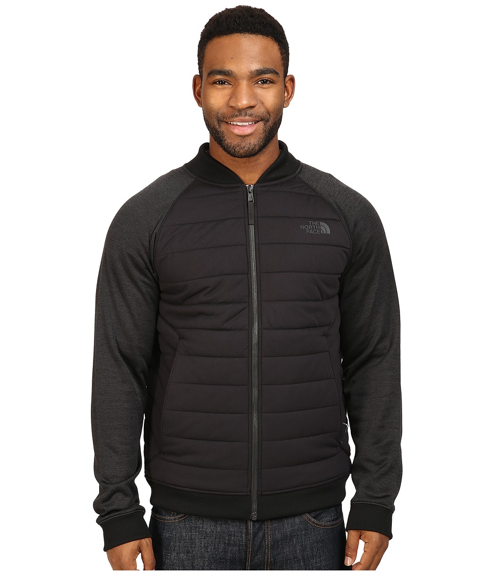 The North Face - Norris Point Insulated Full Zip (TNF Black/TNF Black Heather) Men's Clothing