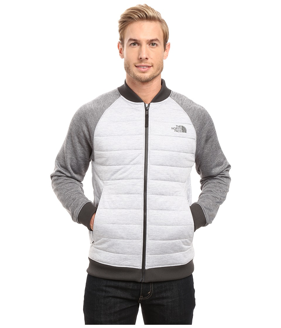 The North Face - Norris Point Insulated Full Zip (TNF Light Grey Heather/TNF Medium Grey Heather) Men's Clothing
