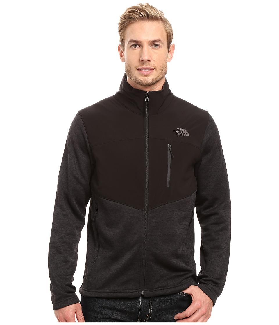 The North Face - Norris Full Zip (TNF Black Heather/TNF Black/Asphalt Grey (Prior Season)) Men's Coat