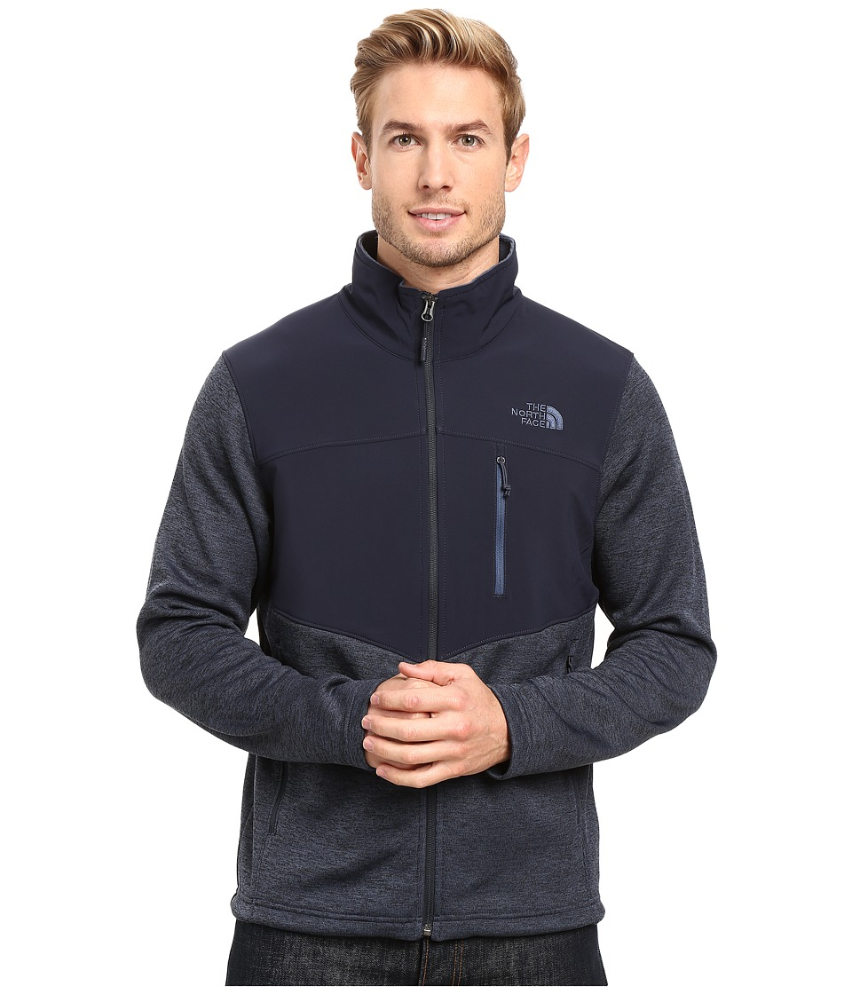 The North Face - Norris Full Zip (Urban Navy Heather/Urban Navy) Men's Coat
