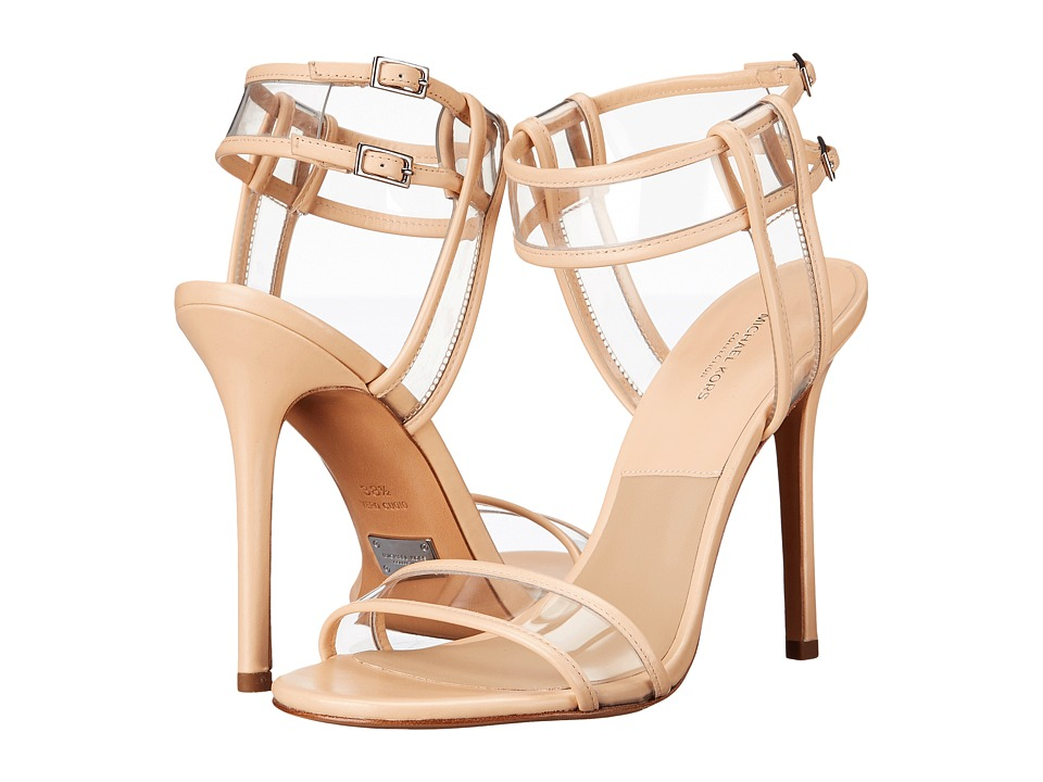 Michael Kors Brittany Runway (Nude Smooth Calf/Vinyl) High Heels