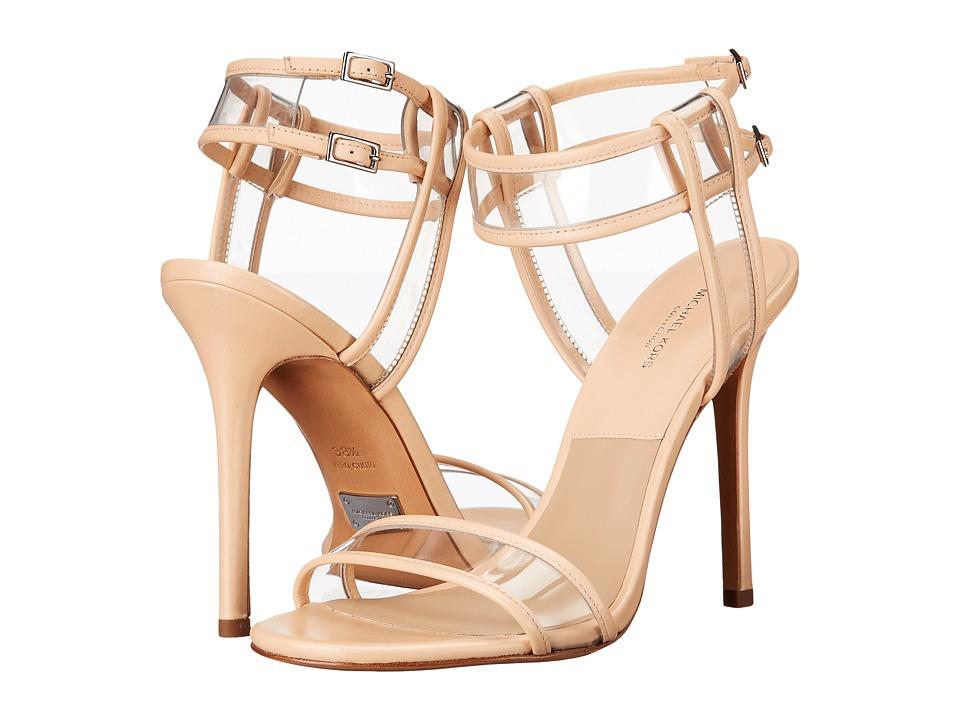 Michael Kors - Brittany Runway (Nude Smooth Calf/Vinyl) High Heels