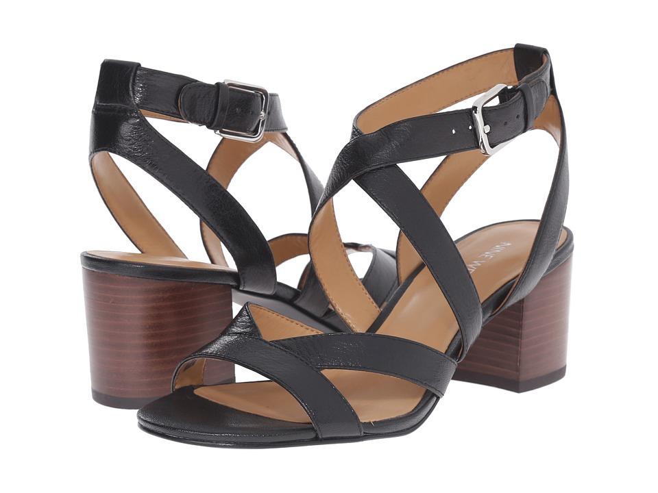 Nine West - Greentea (Black Leather) High Heels