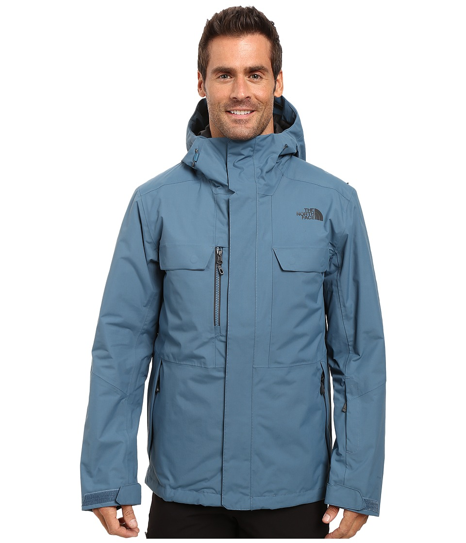 The North Face - Hickory Pass Jacket (Diesel Blue) Men's Jacket