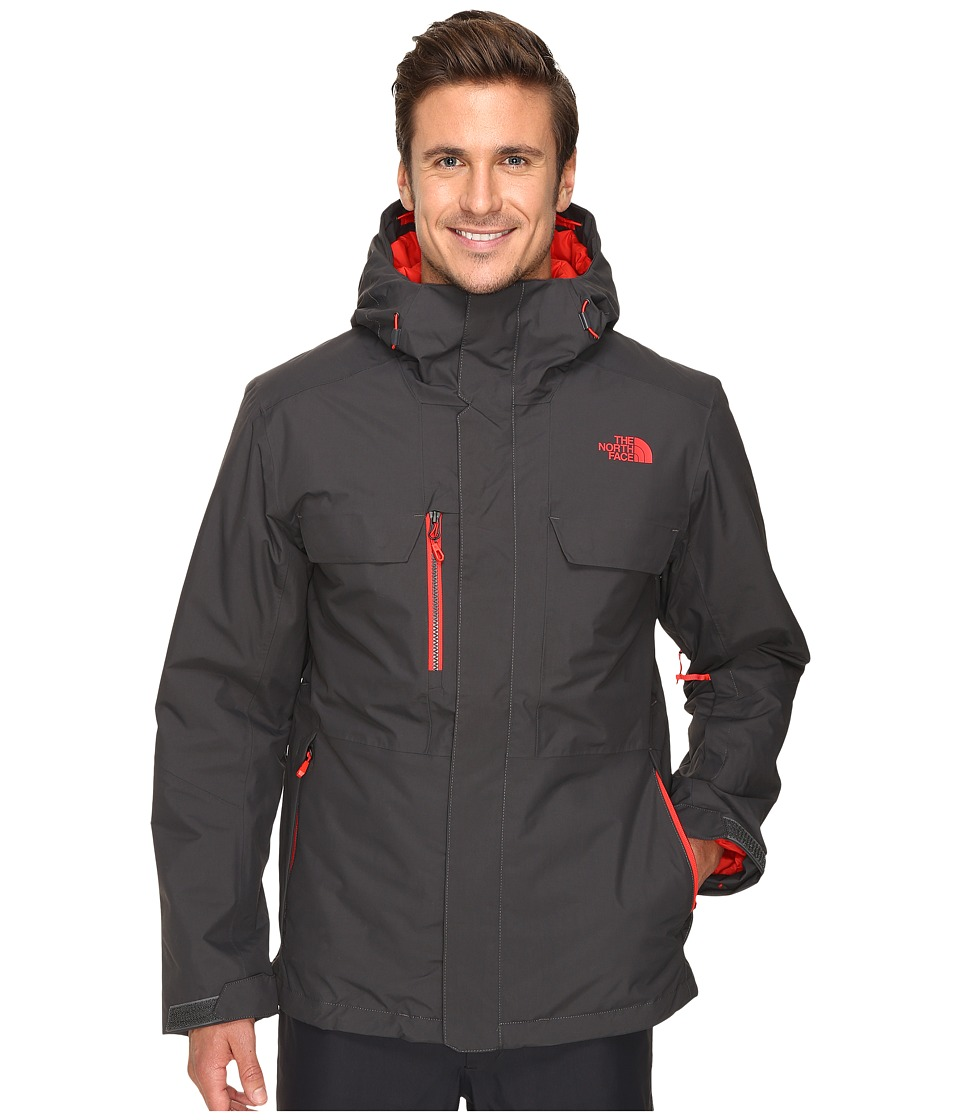 The North Face - Hickory Pass Jacket (Asphalt Grey) Men's Jacket