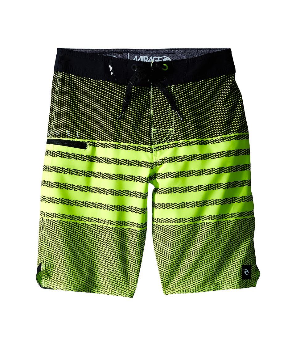 Rip Curl Kids - Mirage Game Boardshorts (Big Kids) (Green) Boy's Swimwear