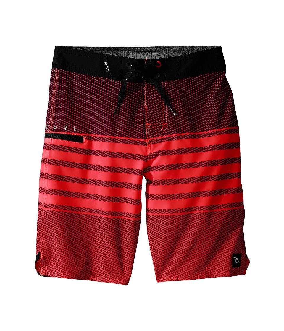 Rip Curl Kids - Mirage Game Boardshorts (Big Kids) (Red) Boy's Swimwear