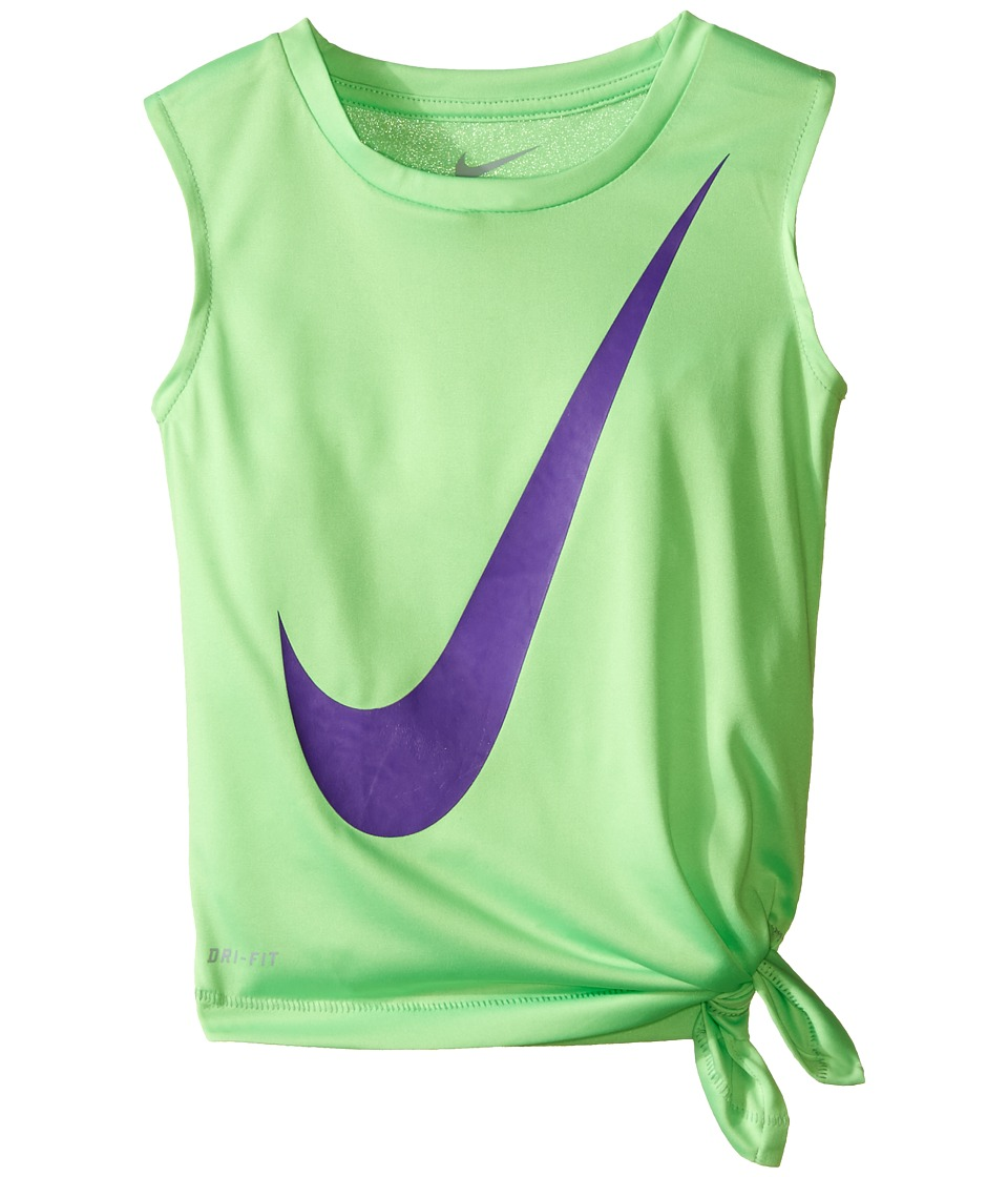 Nike Kids - Kta805 Fashion Dri-FIT Muscle Top (Toddler) (Voltage Green) Girl's Clothing