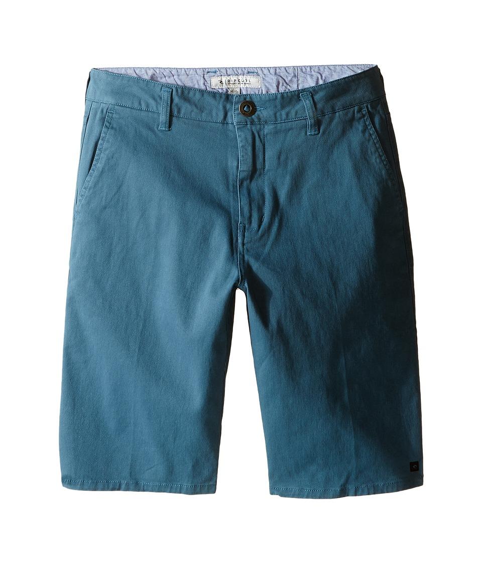 Rip Curl Kids - Epic Stretch Chino Walkshorts (Big Kids) (Tapestry) Boy's Shorts