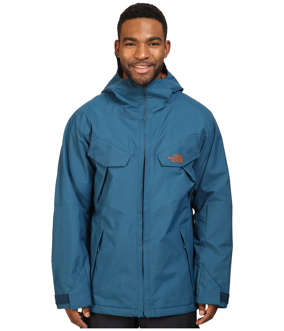 The North Face - Brohemia Jacket (Prussian Blue) Men's Coat