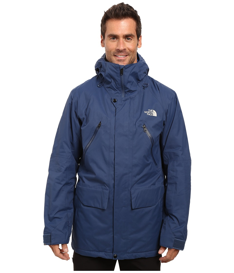 The North Face - Sherman Insulated Jacket (Shady Blue Wax) Men's Coat