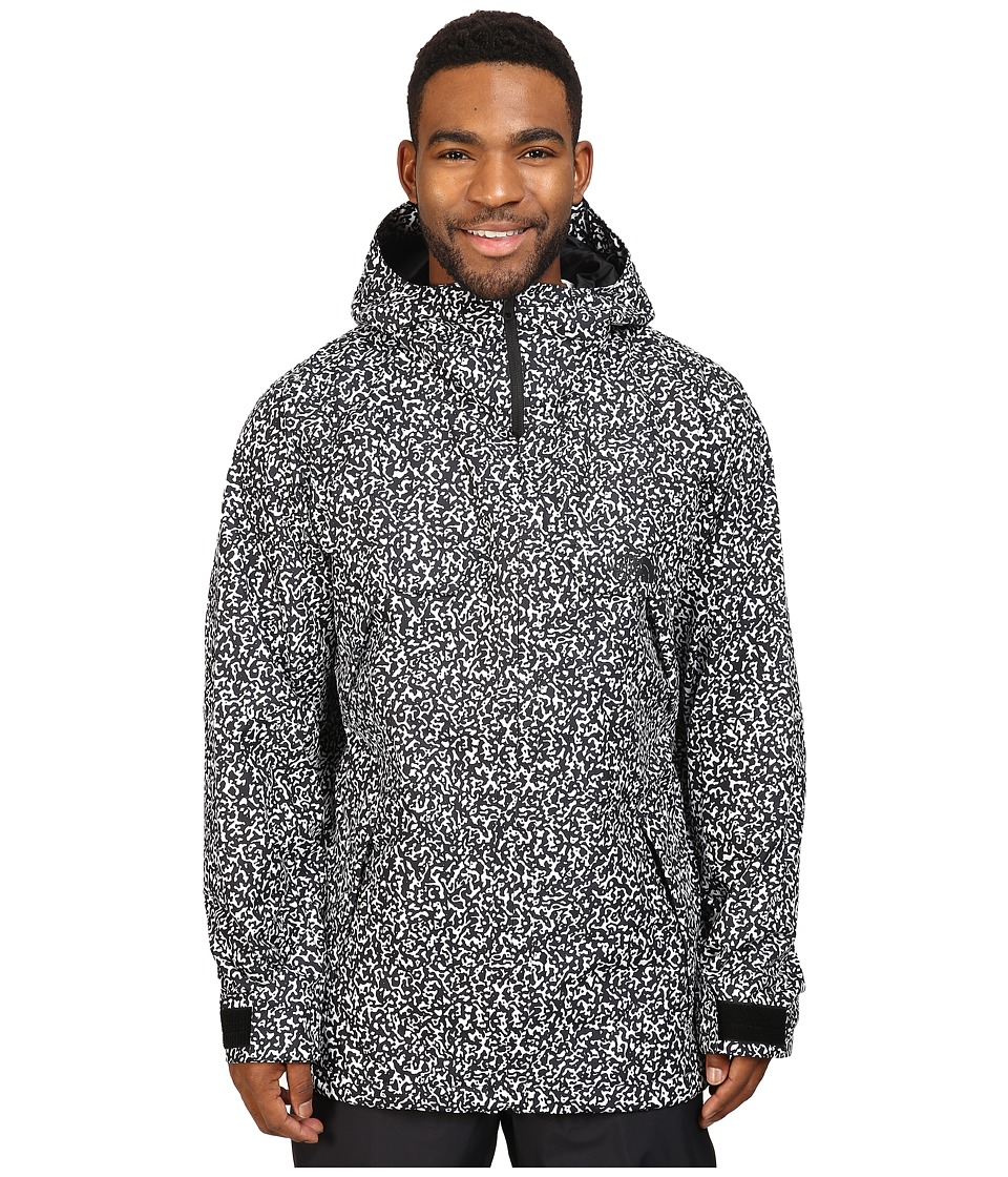 The North Face - Brohemia Jacket (TNF Black Whiteout Print) Men's Coat