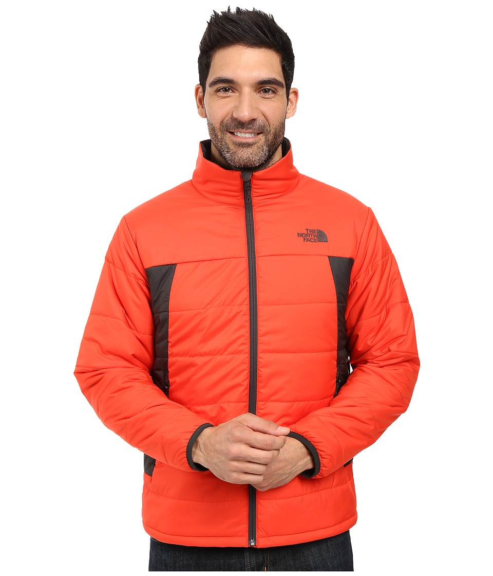 The North Face - Bombay Jacket (Fiery Red/Asphalt Grey) Men's Jacket