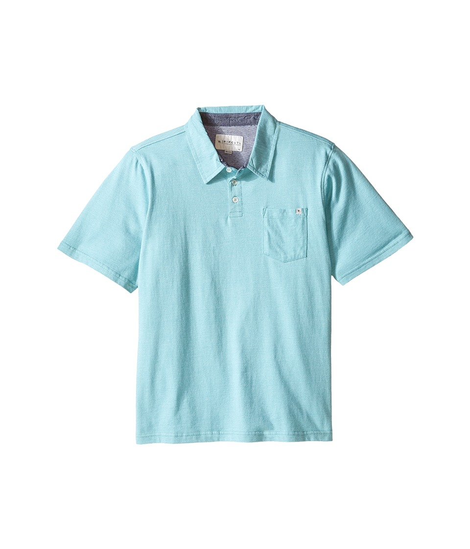 Rip Curl Kids - Fairway Polo (Big Kids) (Aqua) Boy's Clothing