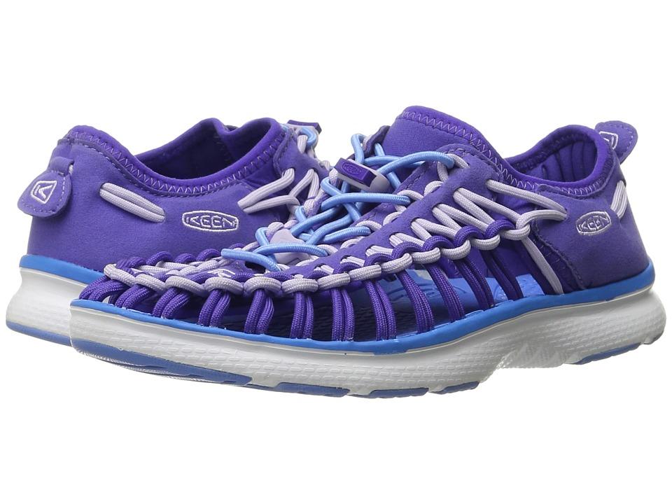 Keen Kids - Uneek O2 (Little Kid/Big Kid) (Liberty/Azure Blue) Girl's Shoes