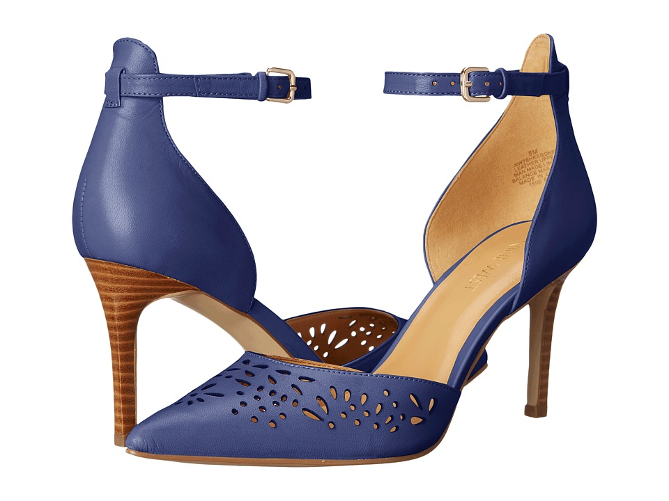 Nine West - Shesgone (Navy Leather) High Heels