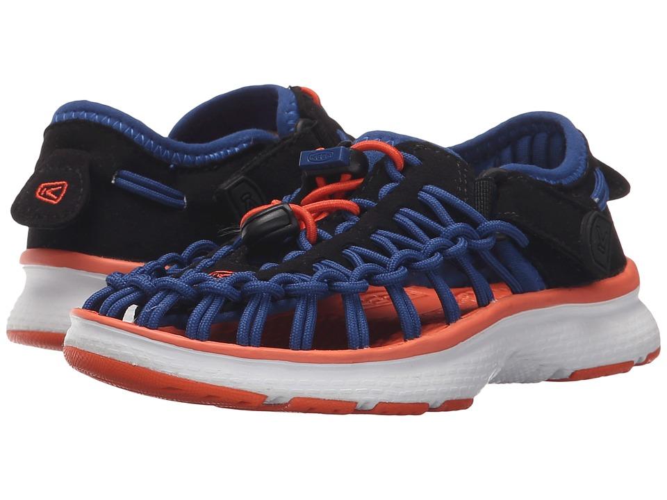 Keen Kids - Uneek O2 (Toddler/Little Kid) (True Blue/Koi) Boy's Shoes
