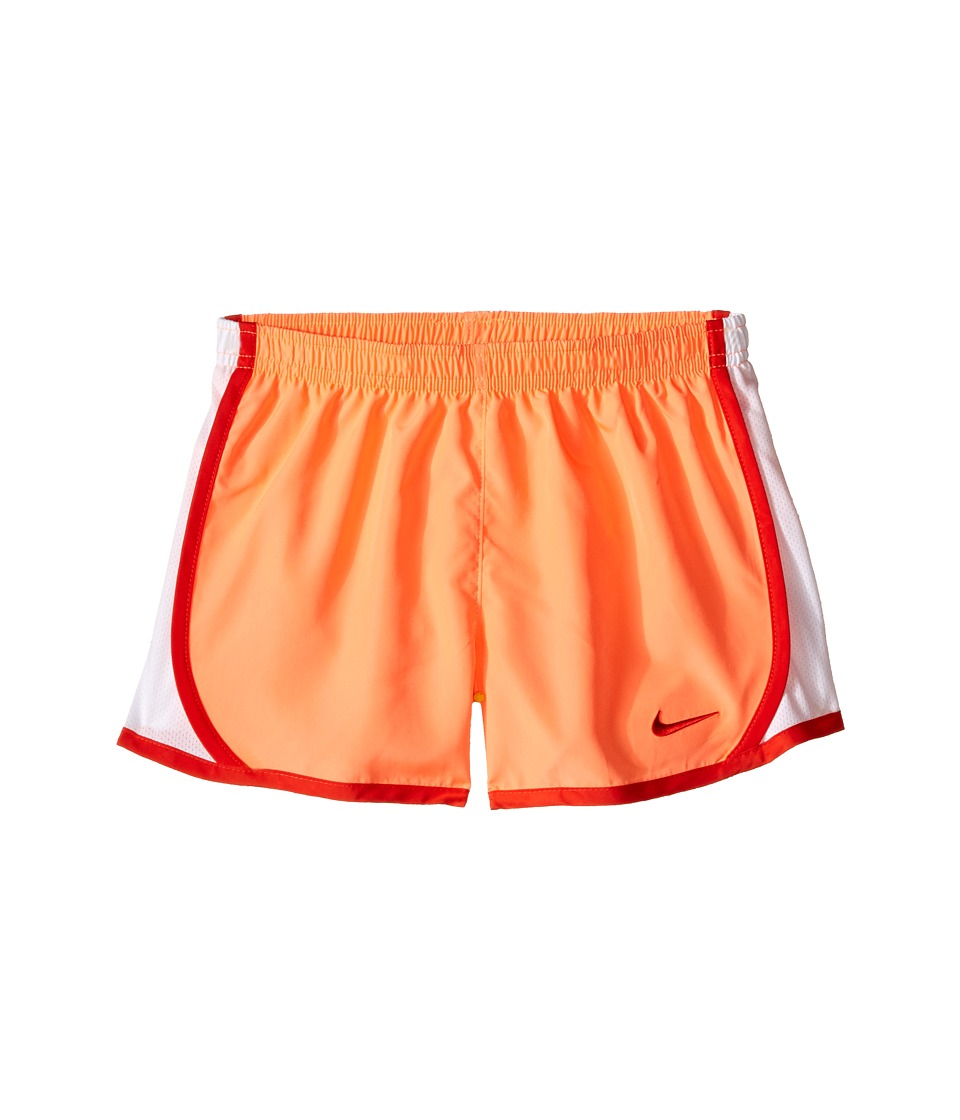 Nike Kids - Dri-FIT Woven Short (Toddler/Little Kids) (Bright Mango) Girl's Shorts
