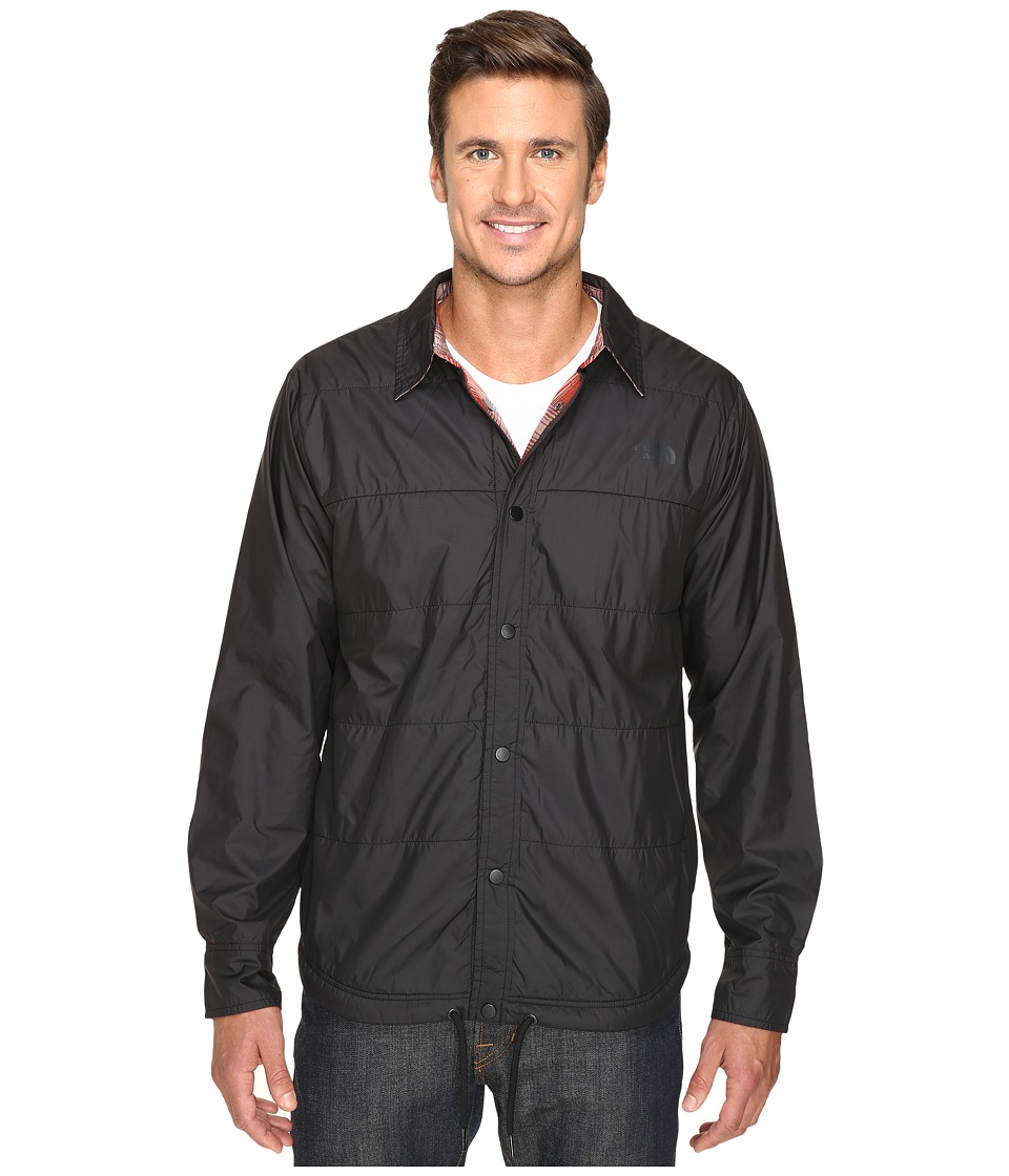 The North Face - Fort Point Flannel Jacket (TNF Black) Men's Jacket