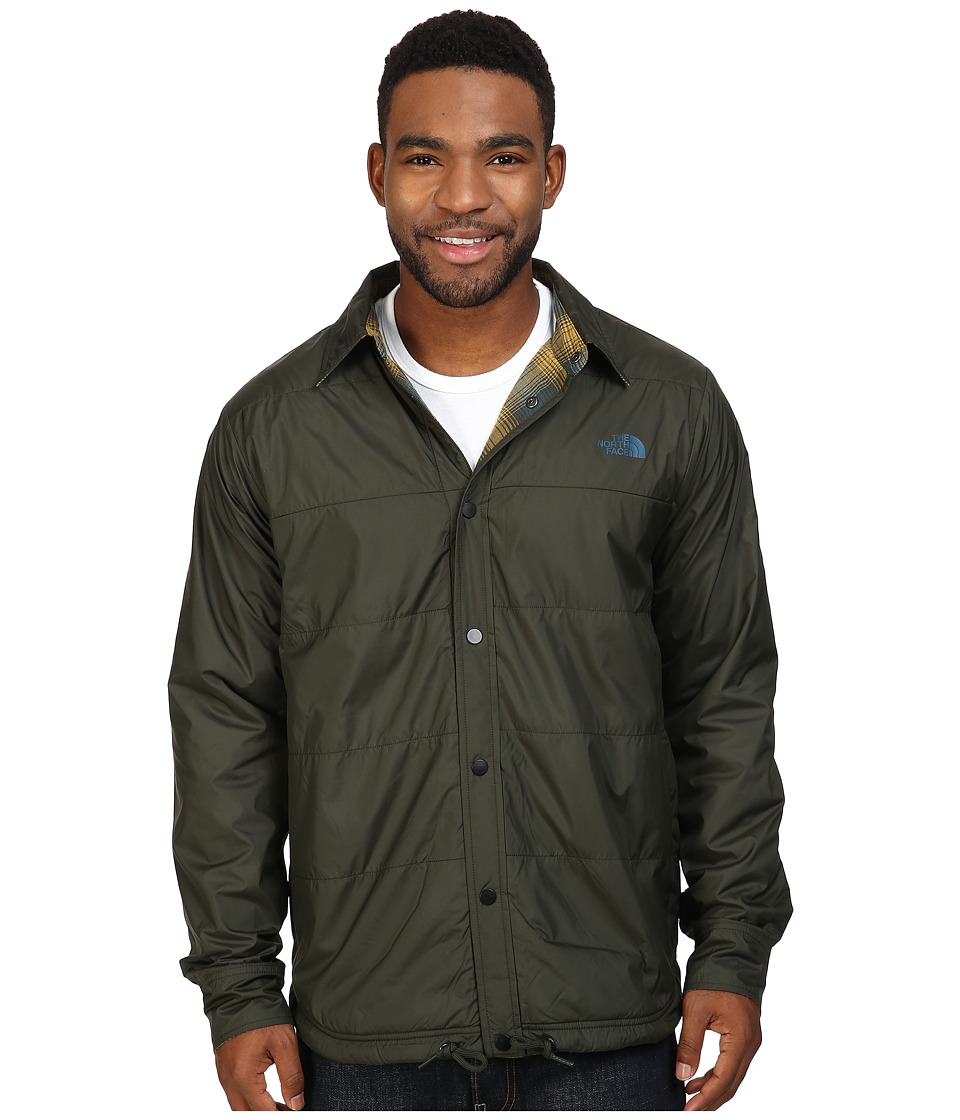 The North Face - Fort Point Flannel Jacket (Rosin Green) Men's Jacket