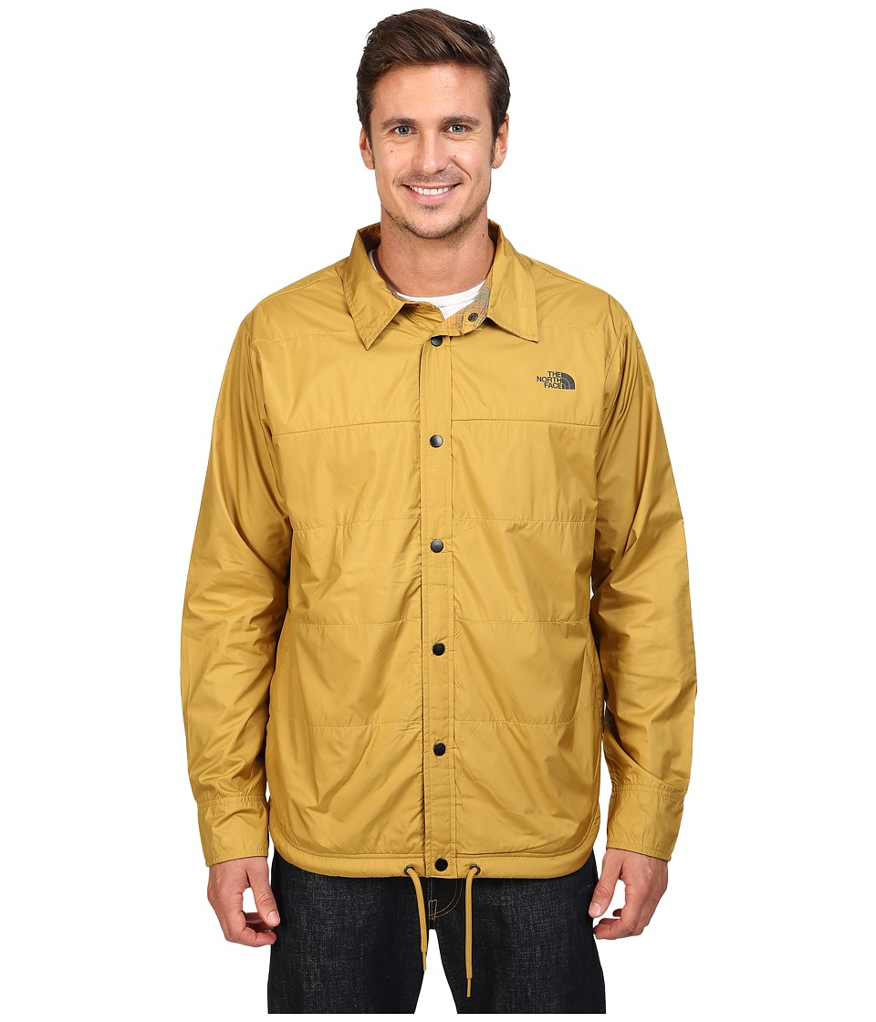 The North Face - Fort Point Flannel Jacket (Bronze Mist) Men's Jacket