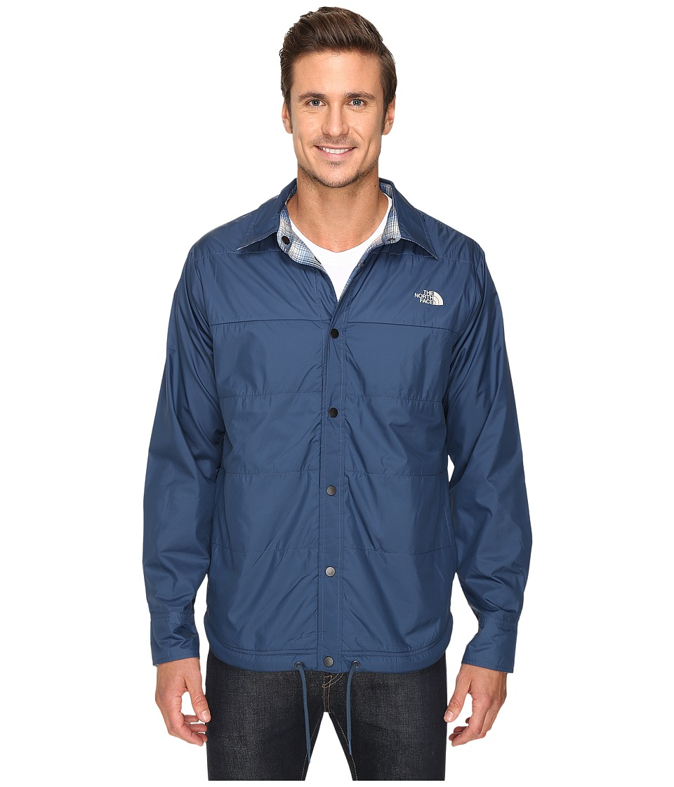 The North Face - Fort Point Flannel Jacket (Shady Blue) Men's Jacket