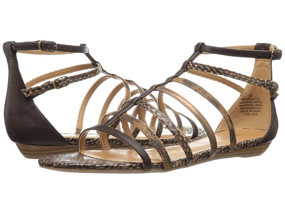 Nine West - Aboutthat (Cognac Multi Y) Women's Flat Shoes
