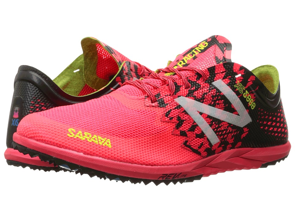 New Balance - MXC5000v3 (Pink/Black) Men's Running Shoes