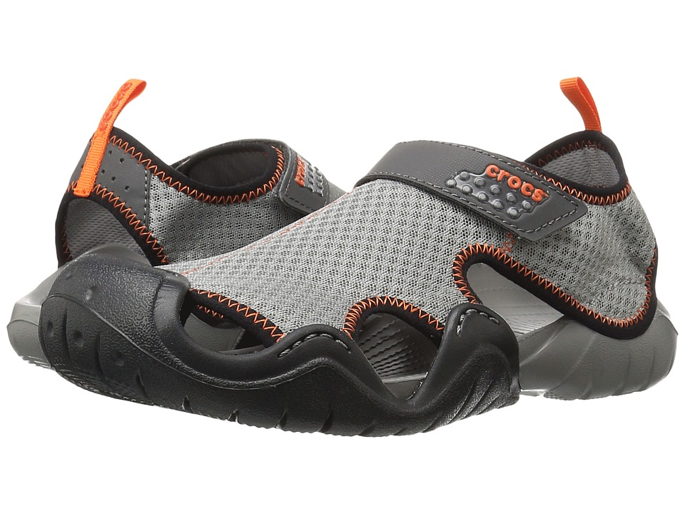 Crocs - Swiftwater Sandal (Smoke/Graphite) Men's Sandals