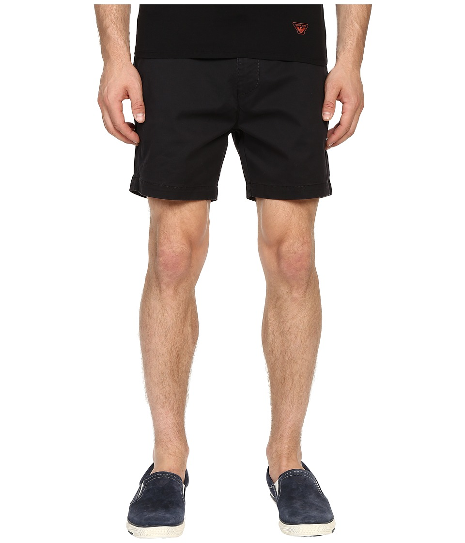 Armani Jeans - Cotton Shorts (Blue) Men's Shorts