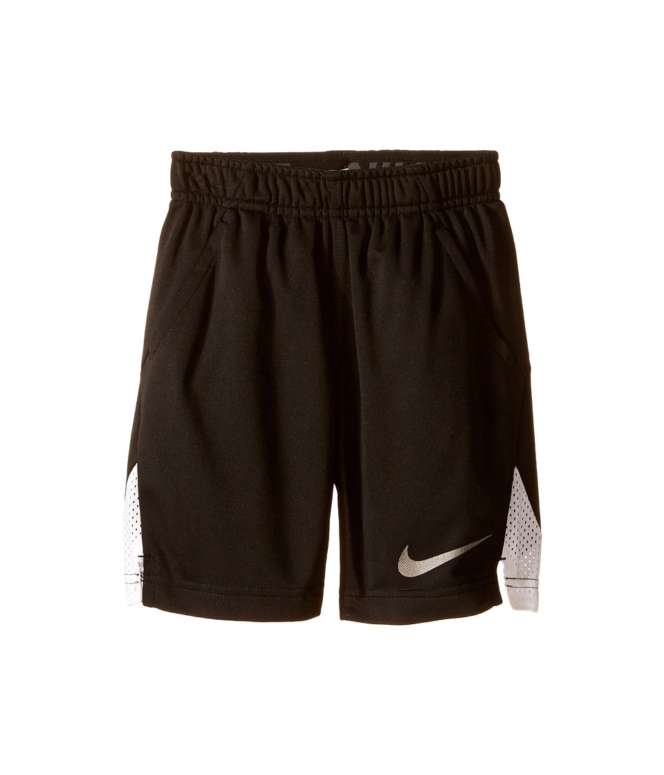 Nike Kids - Hyperspeed Knit Shorts (Toddler) (Black) Boy's Shorts