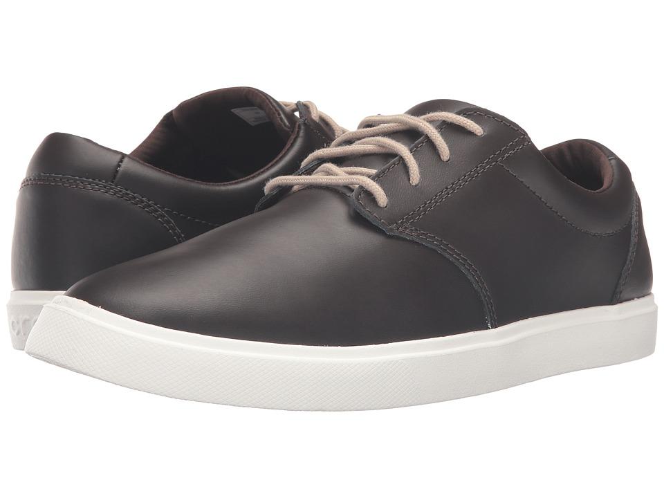 Crocs CitiLane Leather Lace-Up (Espresso/White) Men