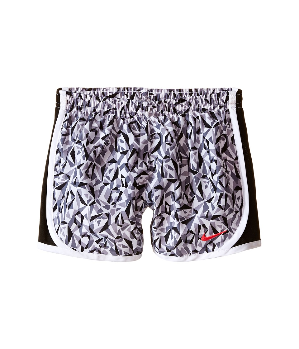 Nike Kids - Tempo AOP Shorts (Little Kids) (White) Girl's Shorts